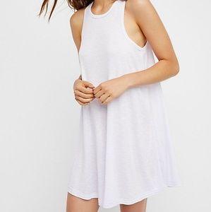 LA NITE MINI WHITE DRESS